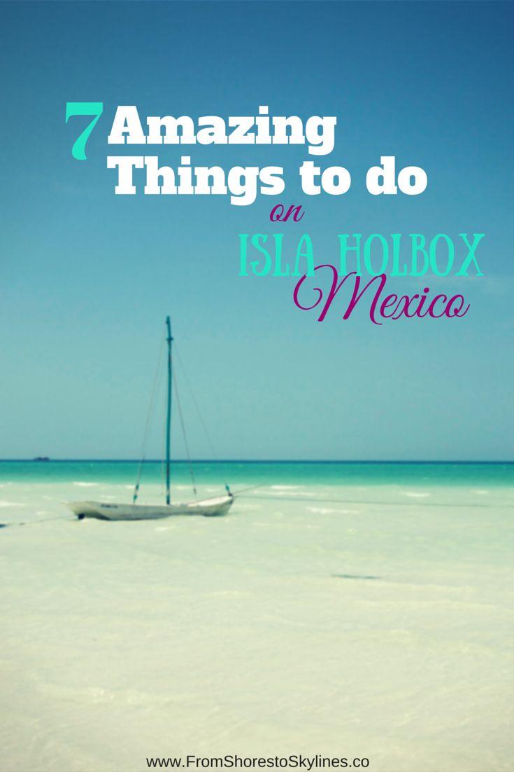 Isla Holbox, Mexico es donde usted consigue los mejores centros y actividades de visibilidad vista