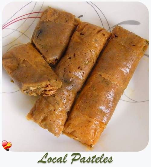 Delicious Pasteles recipe. A local style Puerto Rican favorite. Get more island style recipes here.