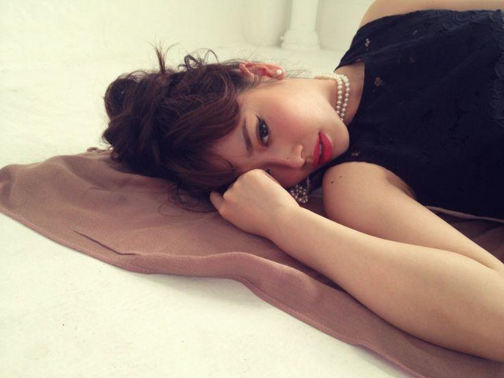 Behind the scenes w/LASKA iPhone shot by Mika chan Styling: RUMIKO Model: May Pakdee
