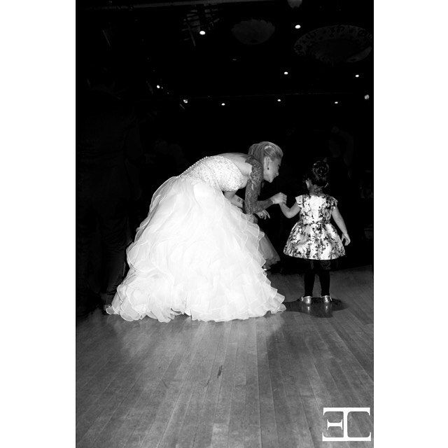 The magic has just begun #magical #wedding #flowergirl #bride #dance…