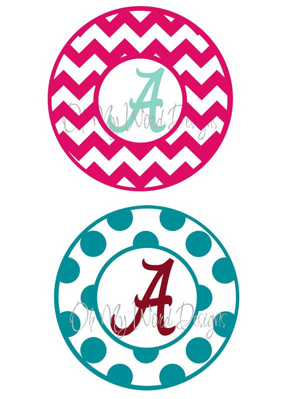 alabama vinyl car decal by ohmyworddesigns on etsy