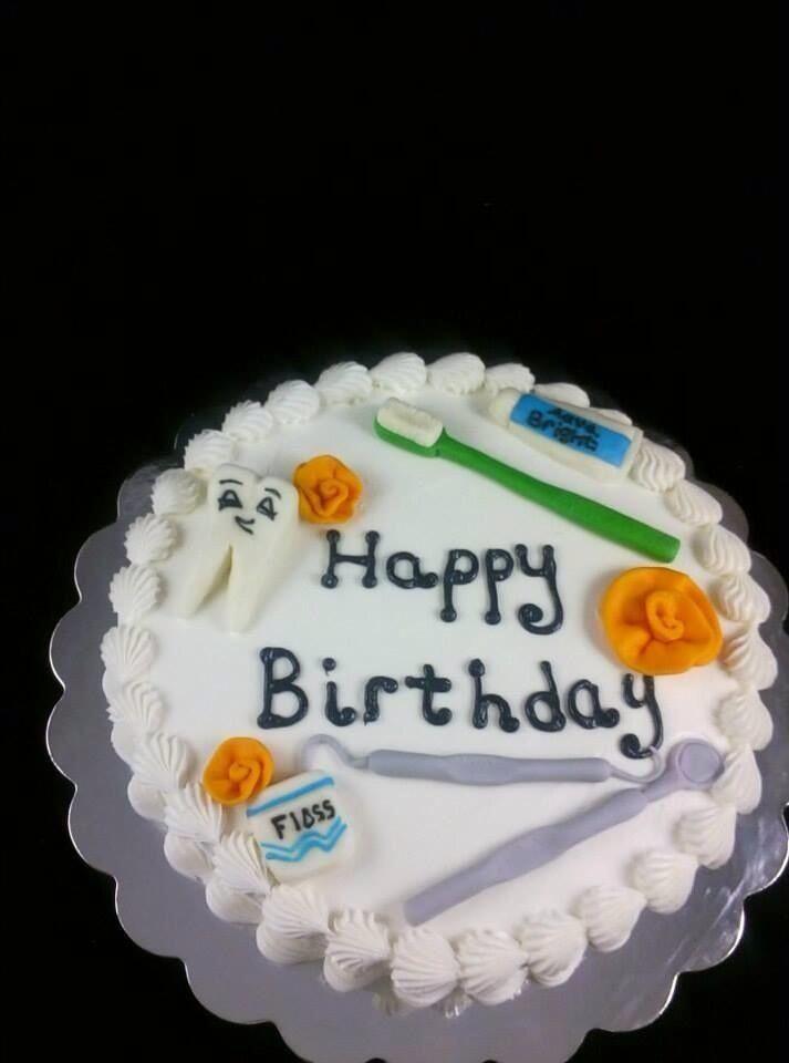 The Perfect Dental Happy Birthday Cake Birthday Cake