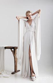 Chic and trendy wedding dress by @Ioanna Kourbela