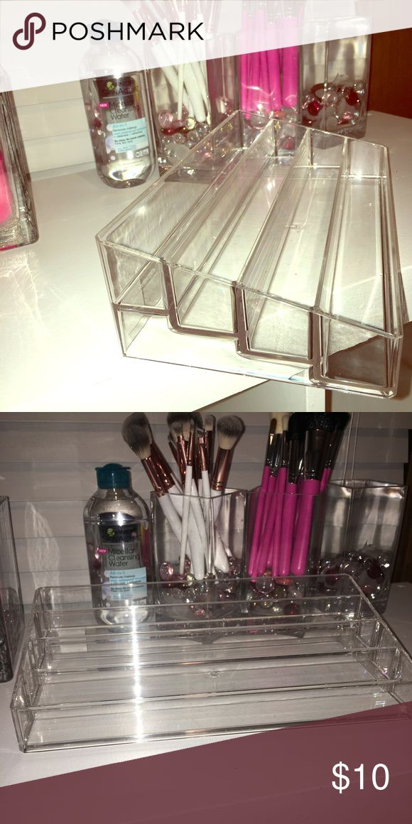 40 bottle Acrylic Nail Polish Stand BRAND NEW with attached tag! I wanted to use it for something else but it's too big. Original price was $17.99. I'm giving it away for 😍$10.00😍 The Container Store Makeup Foundation