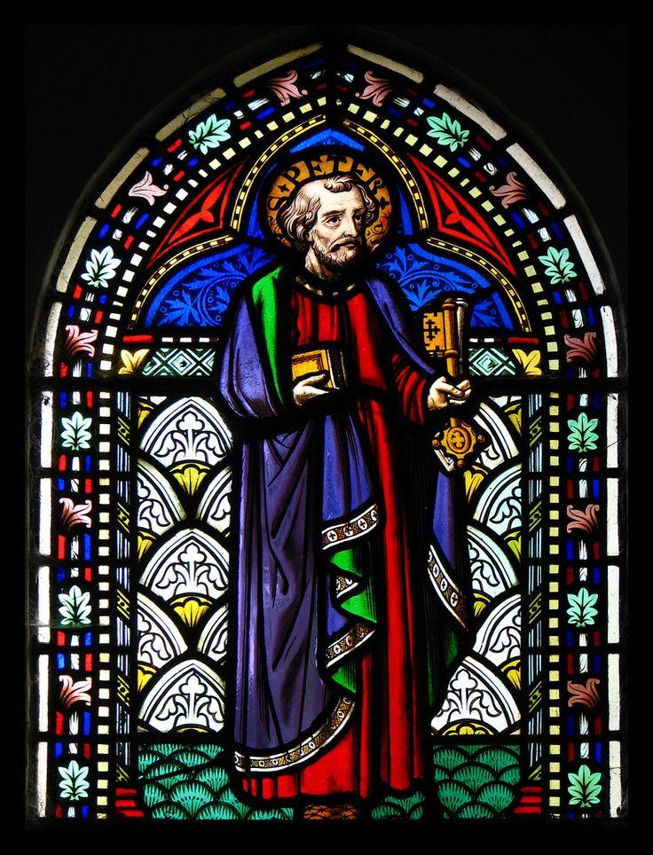 St Peter ステンドグラス