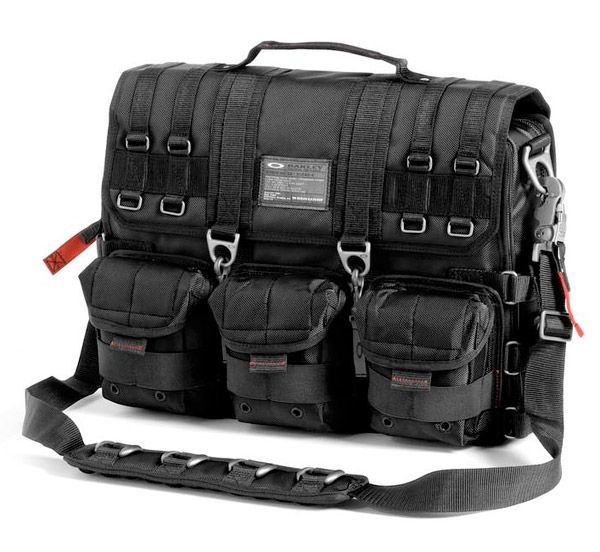 Oakley Standard Issue Computer Bag. I bought this a couple of years ago. Very tough and durable.