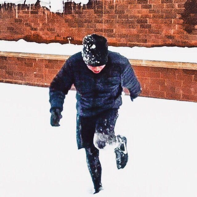 The winter runner.