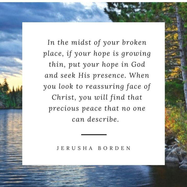 Broken, brokenness, finding peace, encouragement for Christians