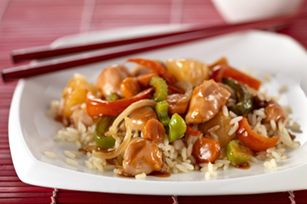 Slow-Cooker Sweet & Sour Chicken......Another pinner said-very good dish.