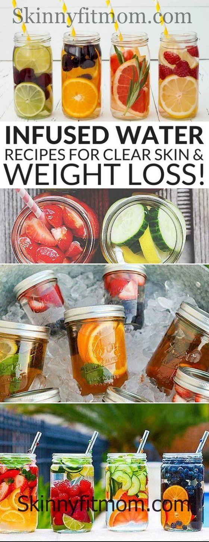 Die besten Aufgussrezepte für klare Haut und Gewichtsverlust. Holen Sie sich die Rezepte h …  – Weight Loss Motivation