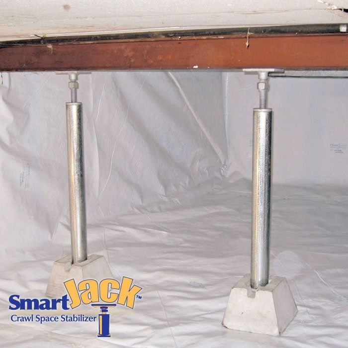 25 best ideas about crawl spaces on pinterest crawl for Basement floor jack lowes