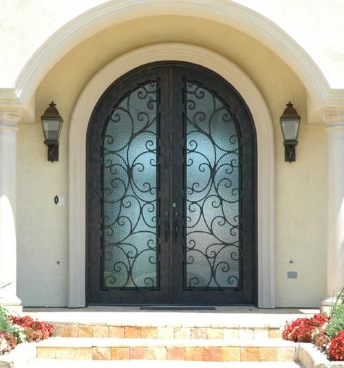 26 Best Gorgeous Wrought Iron Doors Images On Pinterest