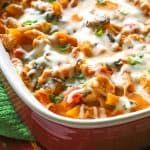 Healthy Three-Cheese Chicken Penne Pasta Bake – The Girl Who Ate Everything