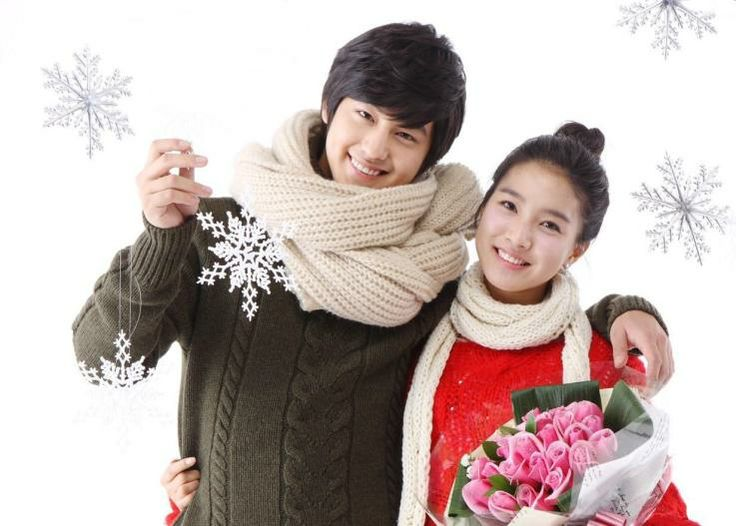 "Kim Beom and Kim So Eun of ""Boys Over Flowers"""