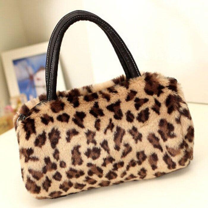 Women Handbags 2016 Fashion Faux Fur zipper bag women Plush handbags shoulder women messenger bags Tote Hobo Bags 9 colors