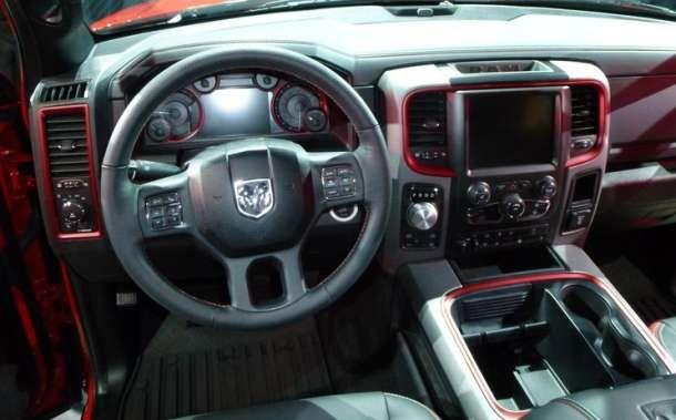 2016 Dodge RAM 1500 Rebel interior