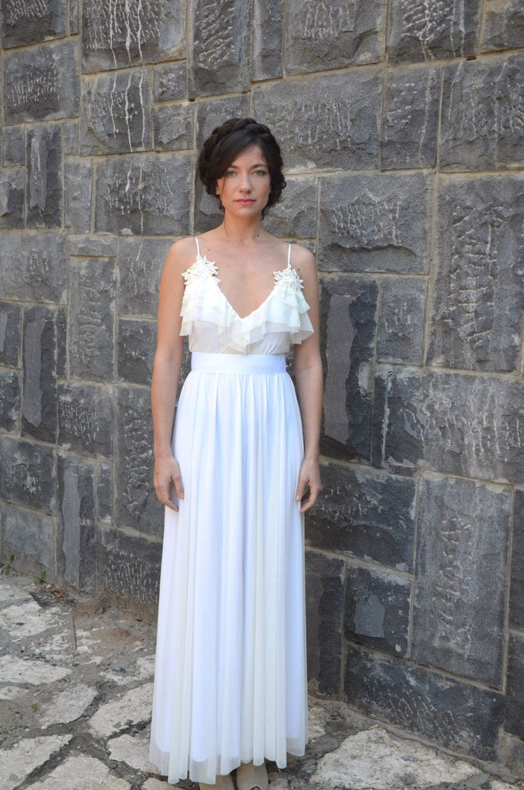 Adding lace trim to wedding dress