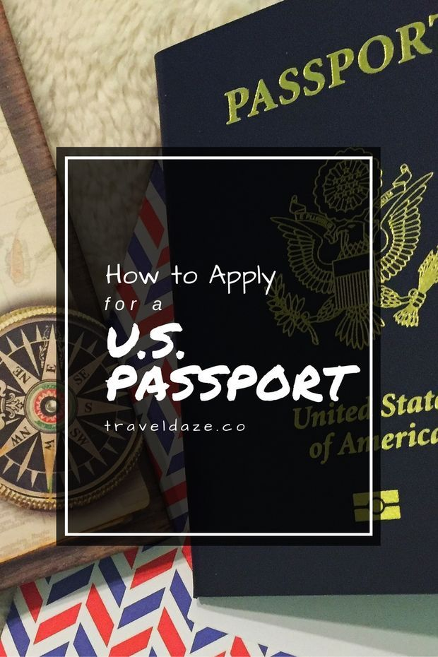 How to Apply for a U.S. Passport // If you're a U.S. citizen, applying for your 1st passport is easy! Just follow this simple guide