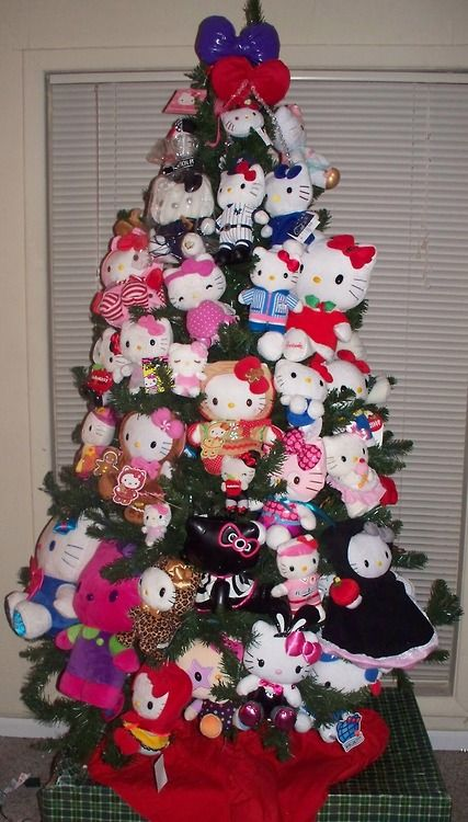 Hello Kitty Christmas Trees