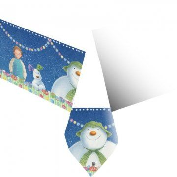 From 1.85 The Snowman And The Snowdog Tablecover
