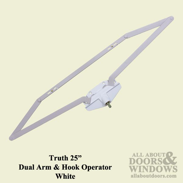 Roto Operator, Roto crank,  25 inch  Dual Arm, Scissor Type - for Casement/Awning crank windows - available at Abstract Glass