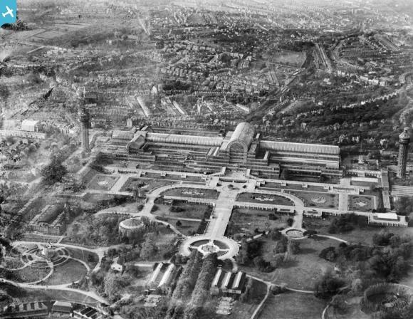 Crystal Palace and Crystal Palace Park, Penge, 1928