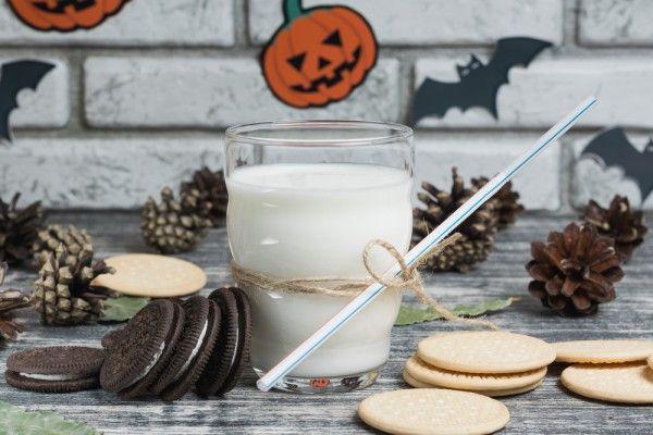 Рецепты на Хэллоуин: милкшейк Привидение