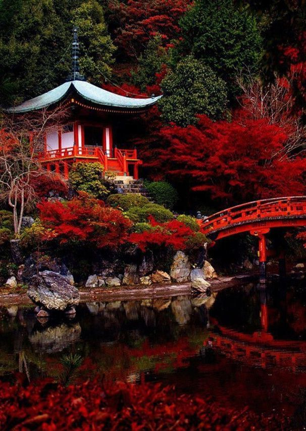 """Daigo-ji Temple , Kyoto @}-,-;— ❁❁❁Thanks, Pinterest Pinners, for stopping by, viewing, re-pinning, & following my boards. Have a beautiful day! ❁❁❁ **<>**✮✮""""Feel free to share on Pinterest""""✮✮"""" #Japanese #organicgardenandhomes"""