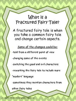 FRACTURED FAIRY TALE UNIT ~ COMMON CORE ALIGNED RL.2.2 & 2.6 - TeachersPayTeachers.com
