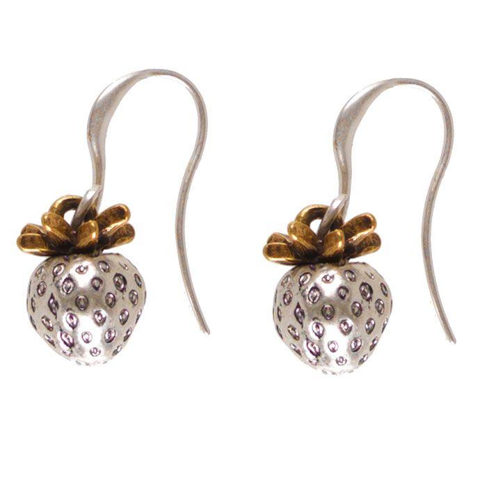 Hultquist Jewellery Wild Strawberry Drop Earrings Now £24 from Lizzielane.com. http://www.lizzielane.com/product/hultquist-jewellery-wild-strawberry-drop-earrings/