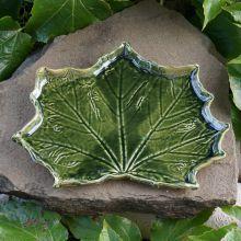liść ceramiczny