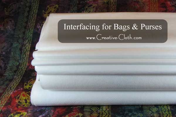 When making bags and purses, using the proper interfacing for your project is an important part of the construction process and can make or break the desig