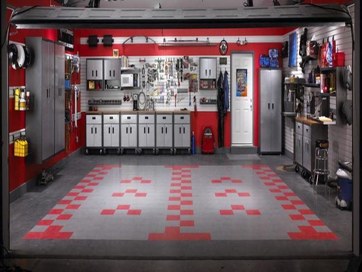 Man Cave Garage Storage : Garage ideas the gladiator luxury