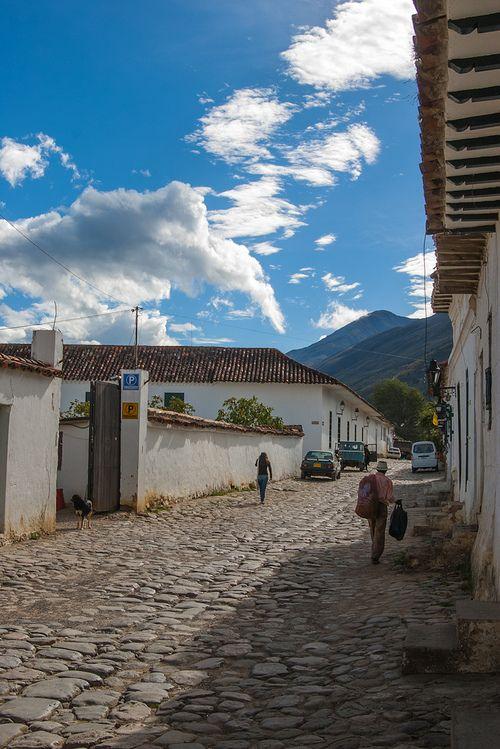 Villa de Leyva, Colombia calle colonial #SomosTurismo