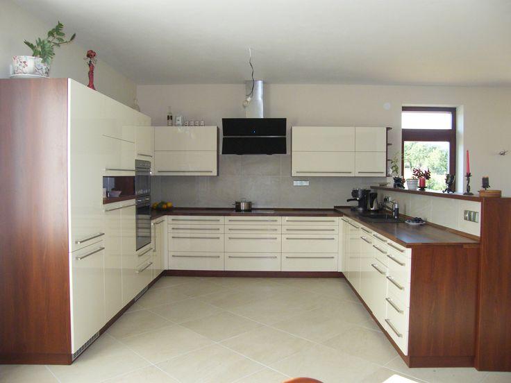 Kuchyňská linka ve tvaru U