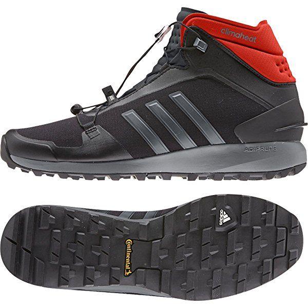 Adidas Outdoor Fastshell Mid CH Hiking Boot - Black/Vista Grey/Bold Orange - Mens - 12