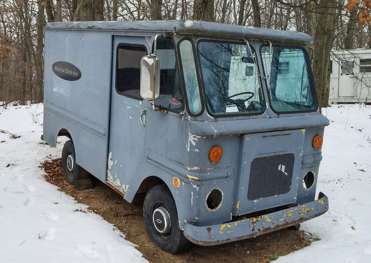 """1966 Chevrolet Olson """"SHORTY"""" step van MI Step van, Vans"""