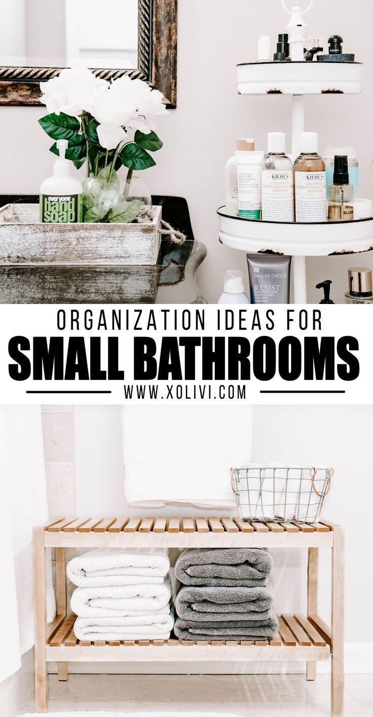 Bathroom Organization Ideas For Smaller Bathrooms
