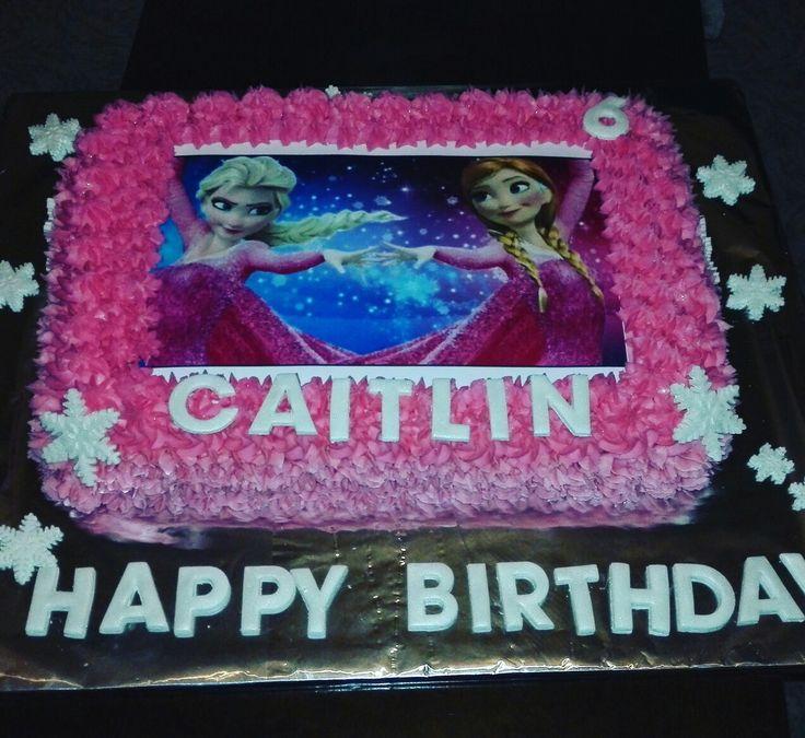 Frozen Pink Cake ⛄