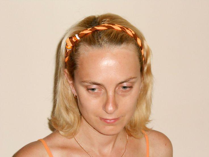 Fascia elastica per capelli di Zucchero & Lana su DaWanda.com
