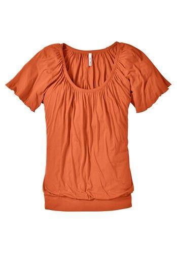 sheego casual sheego Style Flügelarm-Shirt orange