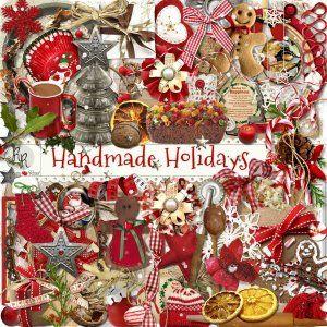 Handmade Holidays Element Set
