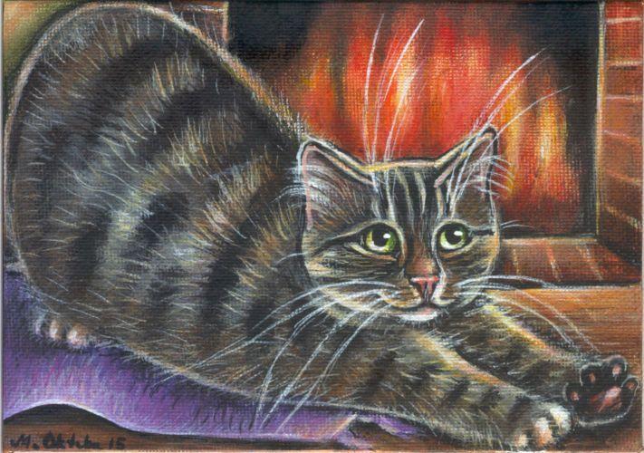 Cat Art Paintings
