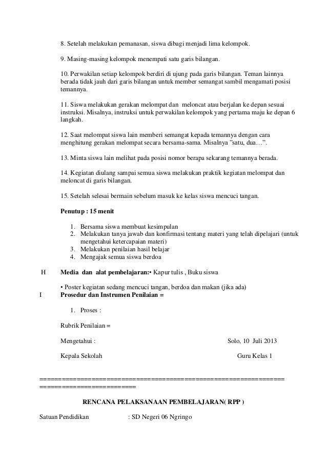 Rpp Kelas 1 Tema 1 Sub Tema 3 Pembelajaran Belajar Berkelas Empati