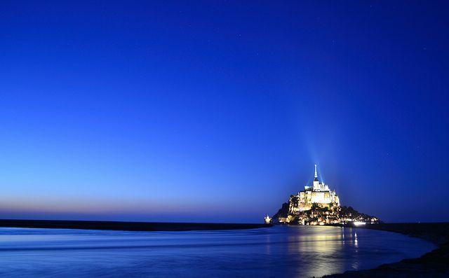 海外旅行世界遺産 モンサンミッシェルとその湾の画像 モンサンミッシェルとその湾の絶景写真画像ランキング  フランス