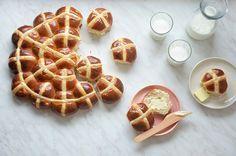 Kublanka vaří doma - Hot cross buns