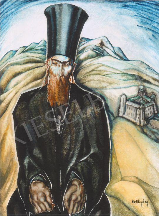 Batthyány Gyula - Bolgár szerzetes festménye