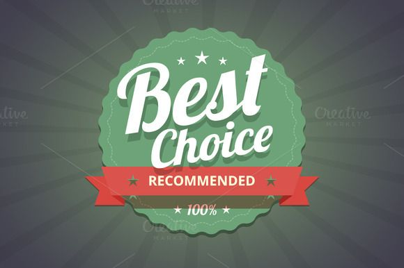 Check out Best choice badge by zaniman on Creative Market