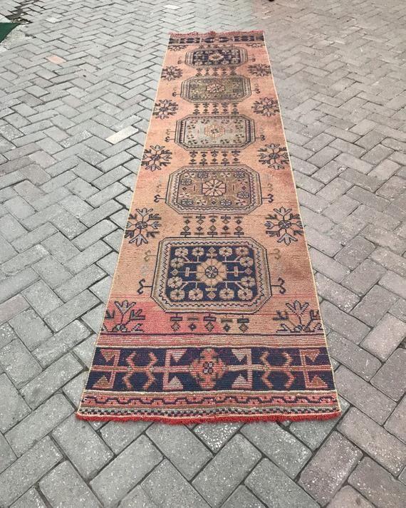 Extra Long Runner2x138 Vintage Runner Rugturkish Rug Etsy Rugs Vintage Runner Rugs Stair Runner Carpet Hall carpet runners extra long