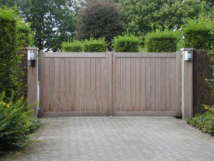 14 best portail entrée images on Pinterest Entry gates, Front - terrasse beton imprime prix m
